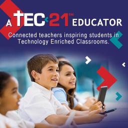 TEC21 Teacher Badge Large