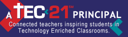 TEC21 Principal Badge Small