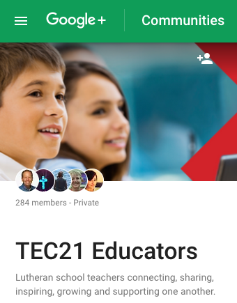 Google+ TEC21 Educators